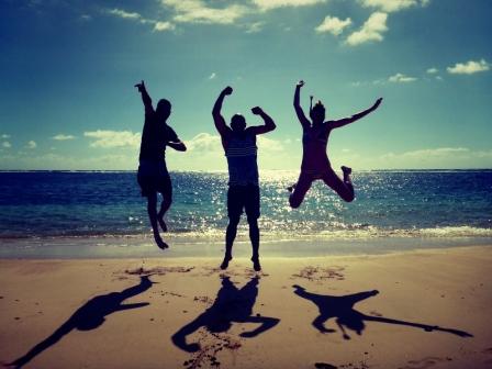 Beaching!